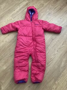 Girls Pink Columbia Snowsuit 18-24 Months