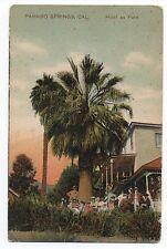 1908 Postcard Hotel at Paraiso Hot Springs CA
