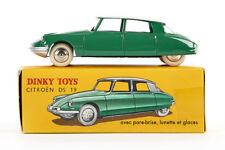 Lot 180912 Dinky Toys 24 CP Citroën DS 19, grün, Druckguss, 1:43, OVP