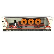 Model Power #19002 Kenworth Red 1:87 HO Scale Diecast 18 Wheeler Tractor Truck