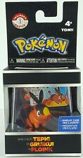 Pokemon Trainers Choice Tepig Action Figure With Display Case 2017 Tomy Kids