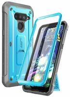 For LG V50 / LG V50 ThinQ 5G SUPCASE Rugged Case + Screen Kickstand Holster Clip