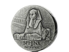 Republic of Tschad Sphinx of Hatshepsut  5 oz 999 Silber Egyptian Relic Serie