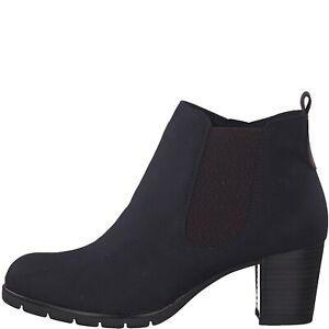 Marco Tozzi 2-25355-33 840 Dark Navy Ladies Boots Sizes 4,5,6,6.5,7,8