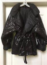 ICONIC VTG OMO NORMA KAMALI BLACK SLEEPING BAG COAT JACKET PUFFER - MINT