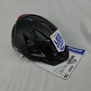 NEW Zefal Smart Bike Helmet Black Adult Mens Built-in LED Light 5074
