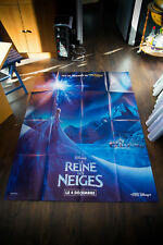 FROZEN Walt Disney Rare Style A 4x6 ft Vintage French Grande Movie Poster 2013