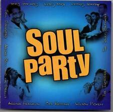 SOUL PARTY Various Artists NEW CLASSIC SOUL R&B CD (WARNER) FUNK NORTHERN SOUL