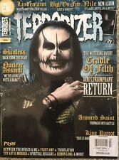 Terrorized The Witching Hour Cradle Of Filth July 2015 FREE SHIPPING