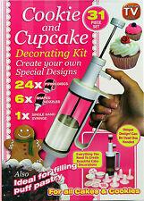 Cupcake Decoración Kit Cumpleaños Navidad Frosting Pintor Helado Boli 31