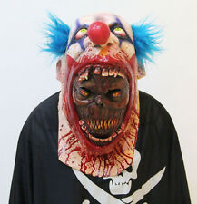 Coulrophobia Demon Clown Scary Halloween Horror Mask, Unisex excellent quality