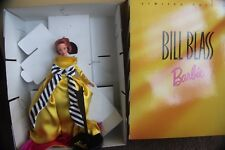 BARBIE DOLL PORCELAIN BILL BLASS 17040 MATTEL FASHION DESIGNERS EVENING DRESS