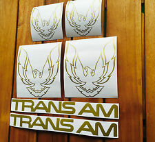 PEGATINAS PONTIAC FIREBIRD TRANS AM 82-92 DECAL SET STICKERS ADESIVI AUFKLEBER