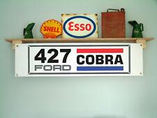 AC Cobra Banner FORD 427 Workshop Garage o Auto d'Epoca uso di visualizzazione, Shelby