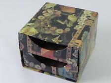 (ref263 38) Vintage decoupage jewellery box