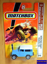 Matchbox '68 Toyota Land Cruiser FJ40 [Blue] - New/Sealed/Rare [E-808]