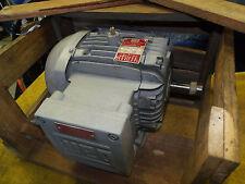 "New Weg 3 Hp Electric Motor 3520 Rpm model 182T286 1-1/8"" shaft 208-230 / 460 v"