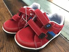 Surprize by Stride Rite Tanner Red toddler Sneakers shoes Size 4