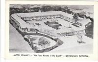 Postcard Motel Stanley Savannah Georgia