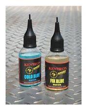 Brunitore per metalli KENTRON COLD BLUE + FIX BLUE 50 ml.