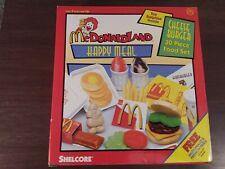 1999 Mcdonald's McdonaldLand Happy Meal Cheeseburger 30 Piece Food Set by...