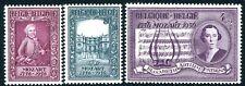 BELGIUM-1956 Mozart Set of 3 Sg 1575-7 UNMOUNTED MINT V32025