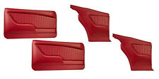Sport II Molded Door & Quarter Panel Set - Red - for 1969 Camaro by TMI
