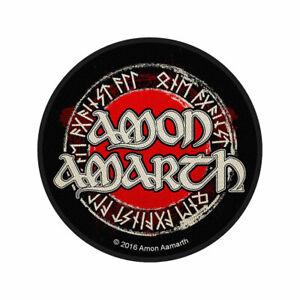 AMON AMARTH - CIRCULAR LOGO - WOVEN PATCH - BRAND NEW - MUSIC SP2855