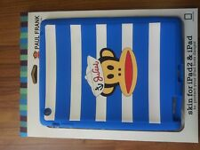 3 x silicone SOFT BACK CASE/COVER FOR APPLE IPAD 1 2 I/II IOS I-PAD PAUL FRANK