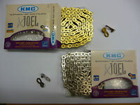 KMC X10-EL EXTRA LIGHT 10 Speed MTB  Mountain Road Bike Cycle Chain Boxed  X10EL