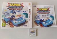 Sonic & All-Stars Racing Transformed Nintendo 3ds Game Boxed Used DS Sega