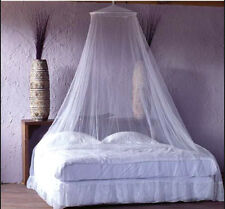 Pink White Mosquito Net Bed Canopy Door Curtain Insect Protection Princess Girl