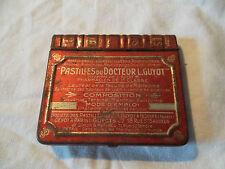 Boite ancienne de pastilles du Docteur L.Guyot