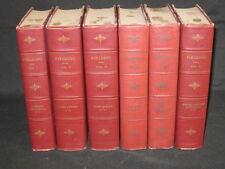 "Henry Fielding - WORKS - ""University Edition"" 1903 Illust'd Six Volume Set"