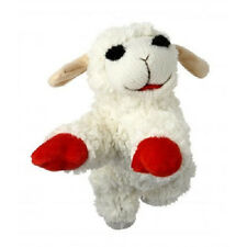 "MULTIPET LAMBCHOP 10"" PLUSH LAMB CHOP DOG TOY NEW WITH TAGS FREE SHIPPING TO USA"