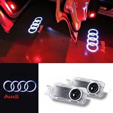 4x  LED Logo Light Shadow Projector Car Door Courtesy Laser For Audi A4 A6 A8 Q7