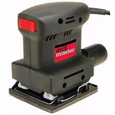 DRILL MASTER 61509 - 1/4 Sheet Orbital Palm Sander - New