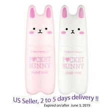 Tonymoly Pocket Bunny Sleek Mist(60ml) + Moist Mist(60ml) Duo +Sample!!
