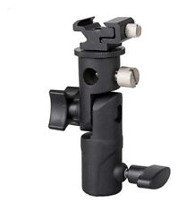 NEW Flash hot shoe/Umbrella holder Swivel Bracket Mount