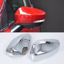 Chrome Rearview Side Mirror Cover Trim 2pcs For Mitsubishi Eclipse Cross 2018