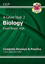 A-Level Biology: AQA Year 2 Complete Revision & Practice with Online Edition By