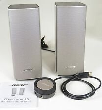 Bose Companion 20 Multimedia Speaker System New Unused