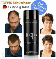 TOPPIK Hair Building Fibers Keratin Streuhaar Schütthaar • SCHWARZ / BLACK