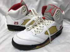 best service 347f0 0e645 Nike Air Jordan 5 Retro Countdown Pack Men s US 10.5 White Red Black 136027