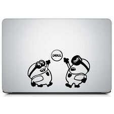 Minions Decal For Macbook Laptop Car Window Bumper Die Cut Wall Decor Sticker