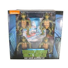 NECA TMNT Teenage Mutant Ninja Turtles - Baby Turtle Accessory Set - MISB