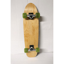 "BLEMISHED Moose Cruiser Complete Blank Natural 7.5"" x 30"" w/ Silver Core Trucks"