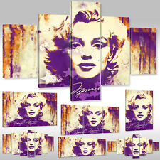 Neu Leinwandbild Canvas Print Wandbilder Hollywood Schauspielerin Marilyn Monroe