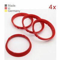 4X Zentrierringe 76,0 x 72,6 Felgen Ringe passend für BMW MINI Alutec Rial Anzio