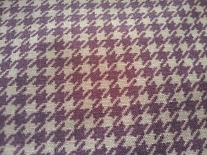 'Highland Print Stella' upholstery fabric, Panaz, mulberry, remnant 4.0m length